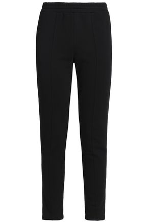 T by ALEXANDER WANG French cotton-terry track pants