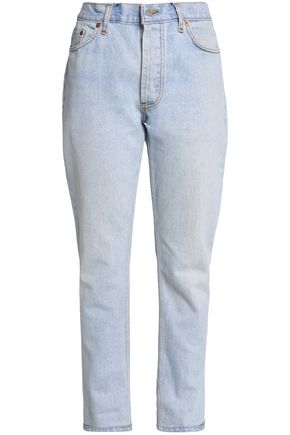 RE/DONE by LEVI'S High-rise straight-leg jeans