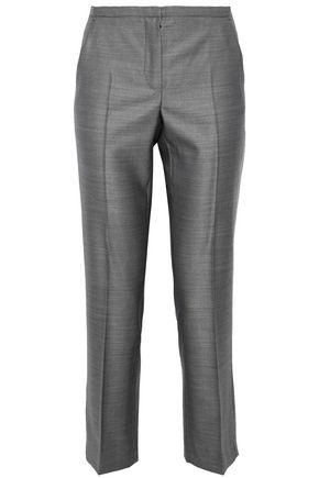 MAX MARA Nyssa cropped wool-blend straight-leg pants