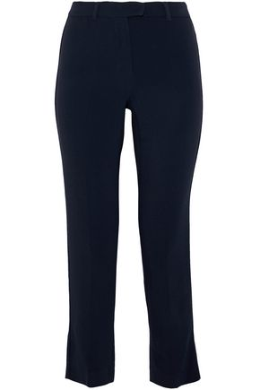 MAX MARA Cropped crepe straight-leg pants