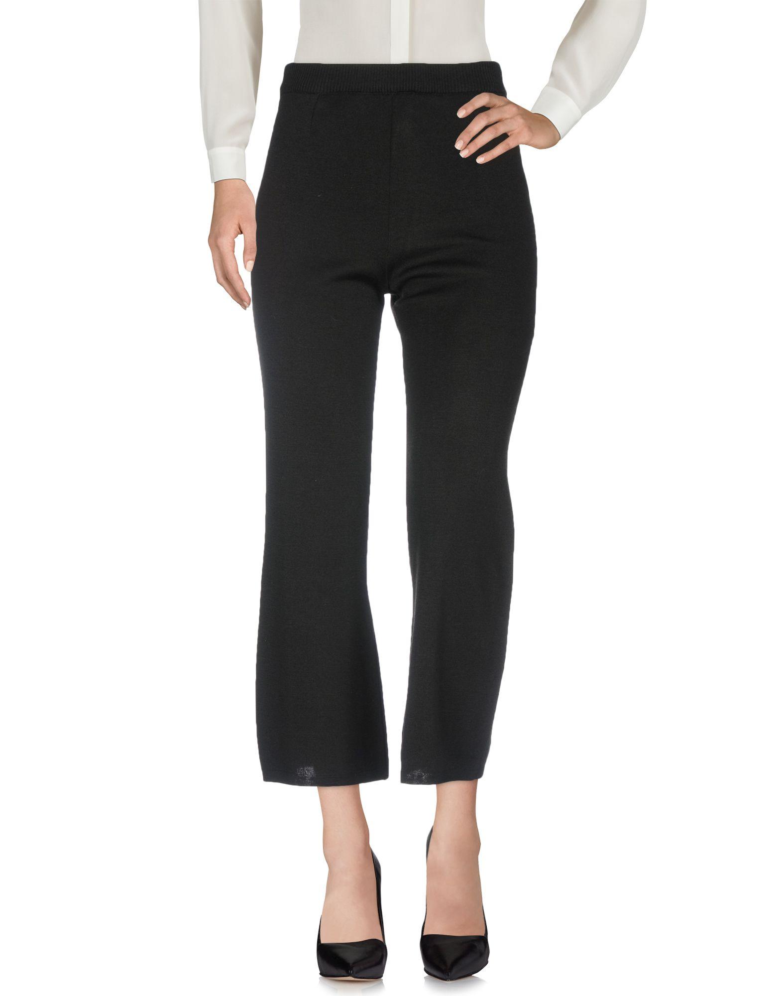 D'ENIA Casual Pants in Black
