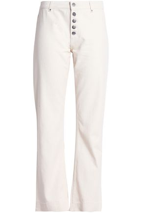 Mid Rise Straight Leg Jeans by Alexa Chung