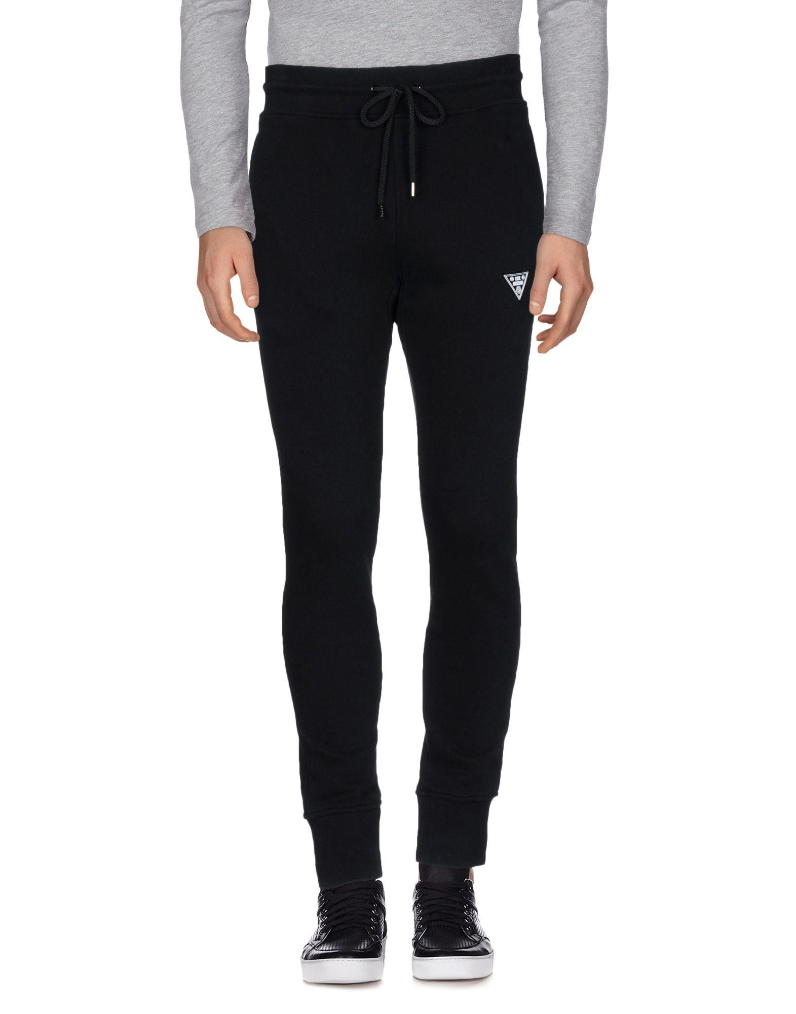 《送料無料》LOVE MOSCHINO メンズ パンツ ブラック 3XL コットン 100%
