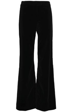 GOAT Wool-crepe flared pants