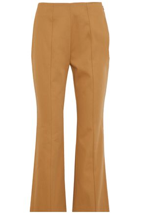 SONIA RYKIEL Cotton-twill flared pants