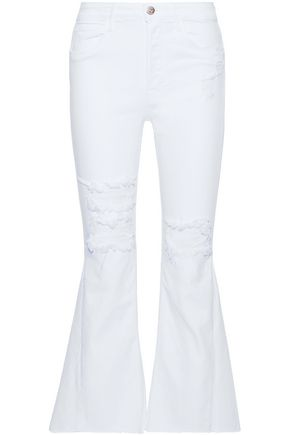 3x1 Higher Ground Gusset high-rise kick-flare jeans