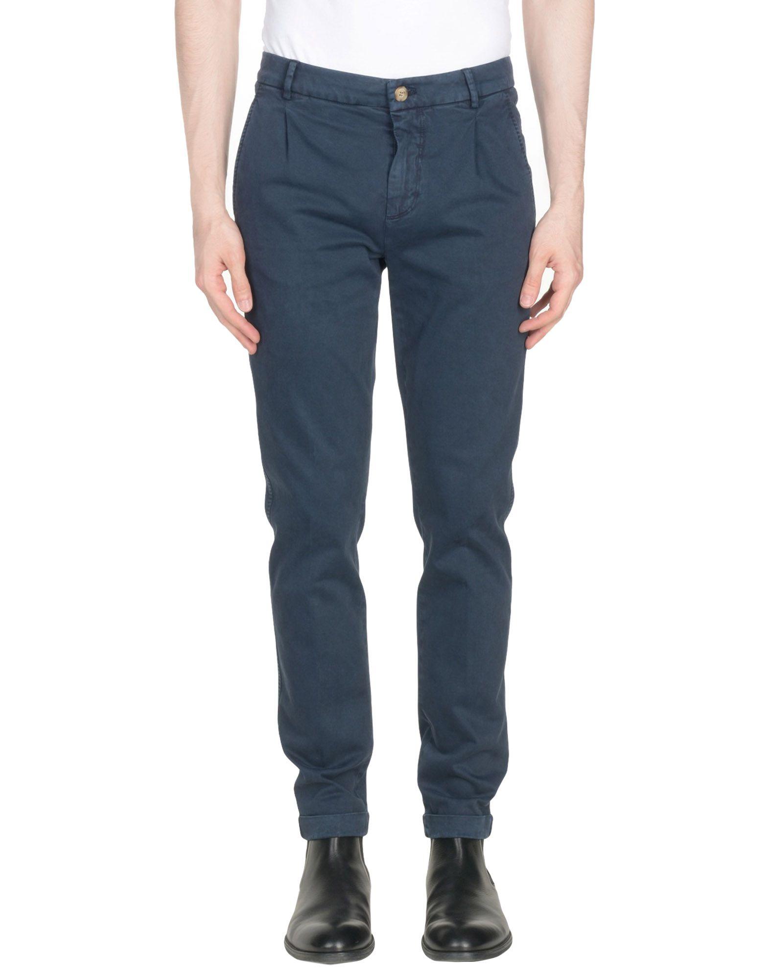 《セール開催中》HEAVY PROJECT メンズ パンツ ダークブルー 29 コットン 97% / ポリウレタン 3%