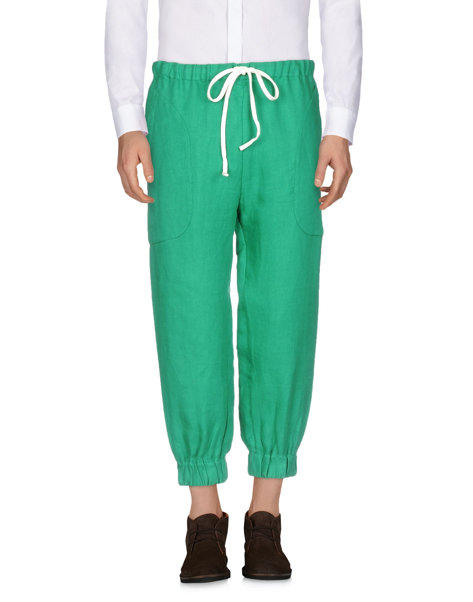 DIMA LEU Casual Pants in Green