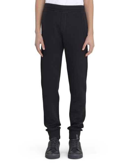 BLACK JOGGING PANTS - Lanvin