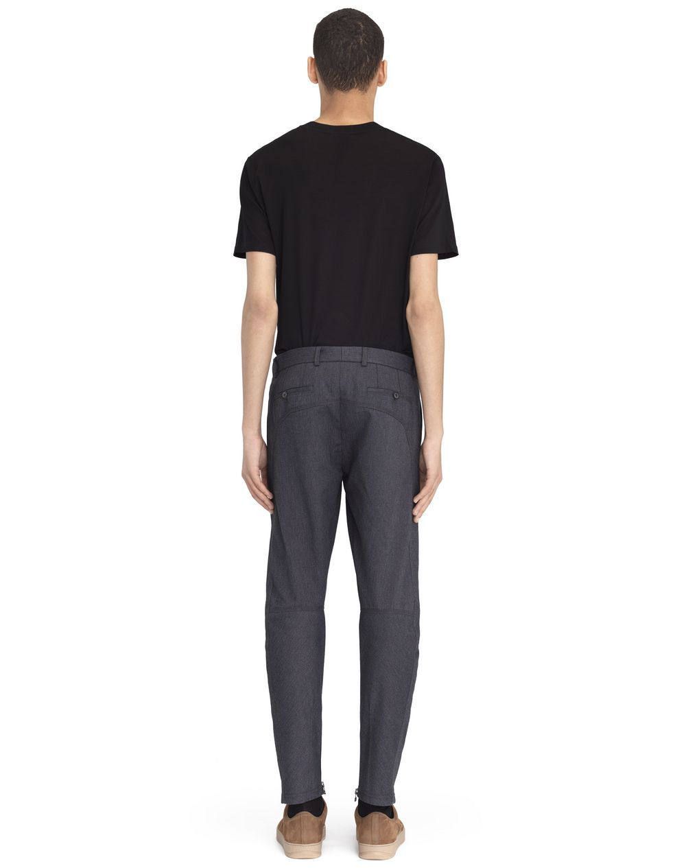 ANTHRACITE BIKER PANTS - Lanvin