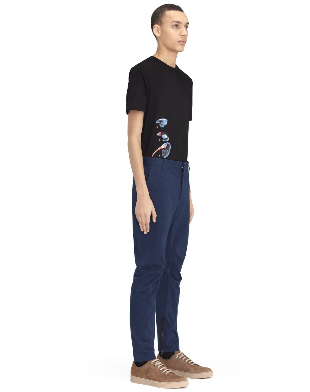 BLUE BIKER PANTS - Lanvin