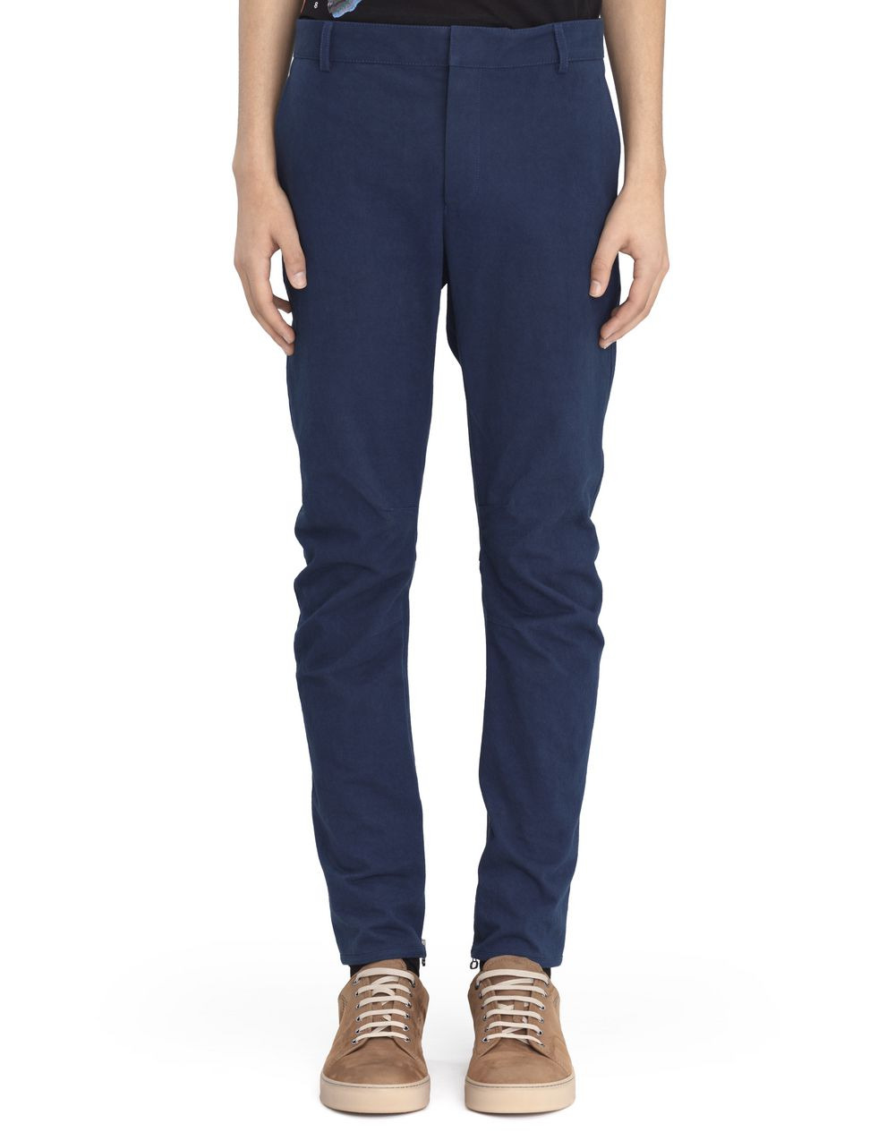BLUE BIKER PANTS - Lanvin