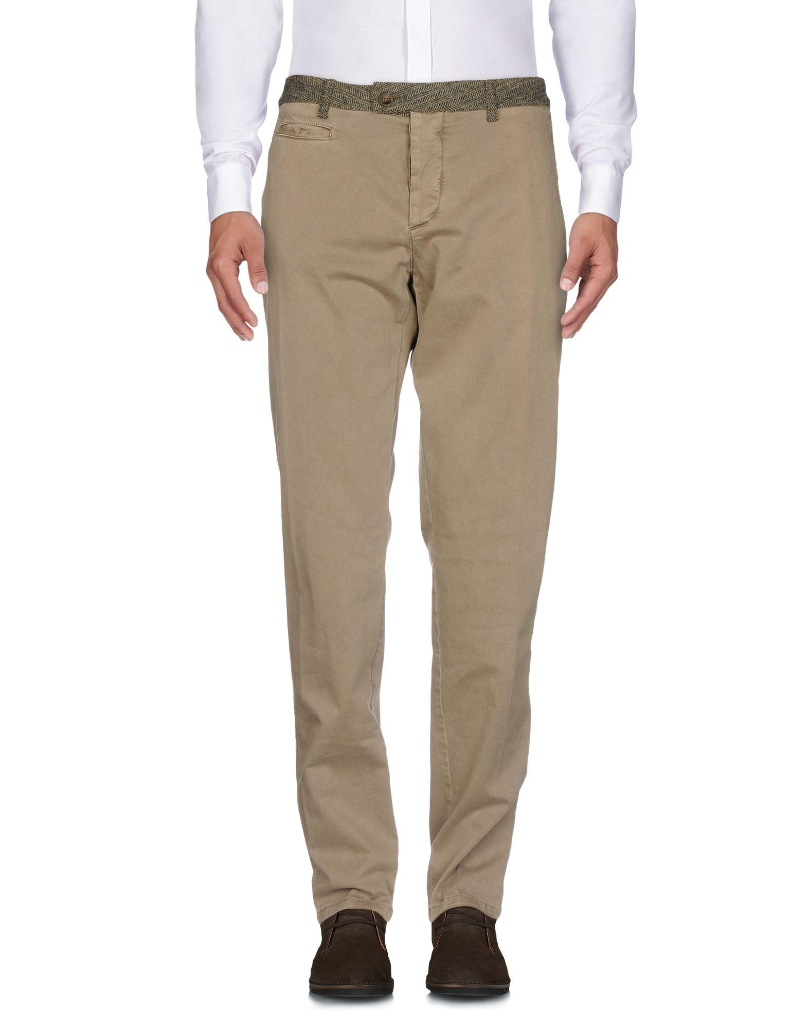 《セール開催中》CAVALLERIA TOSCANA メンズ パンツ サンド 44 コットン 97% / ポリウレタン 3%
