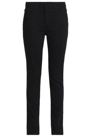 ALEXANDER WANG Mid-rise slim-leg jeans