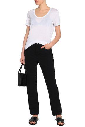 ALEXANDER WANG Mid-rise straight-leg jeans