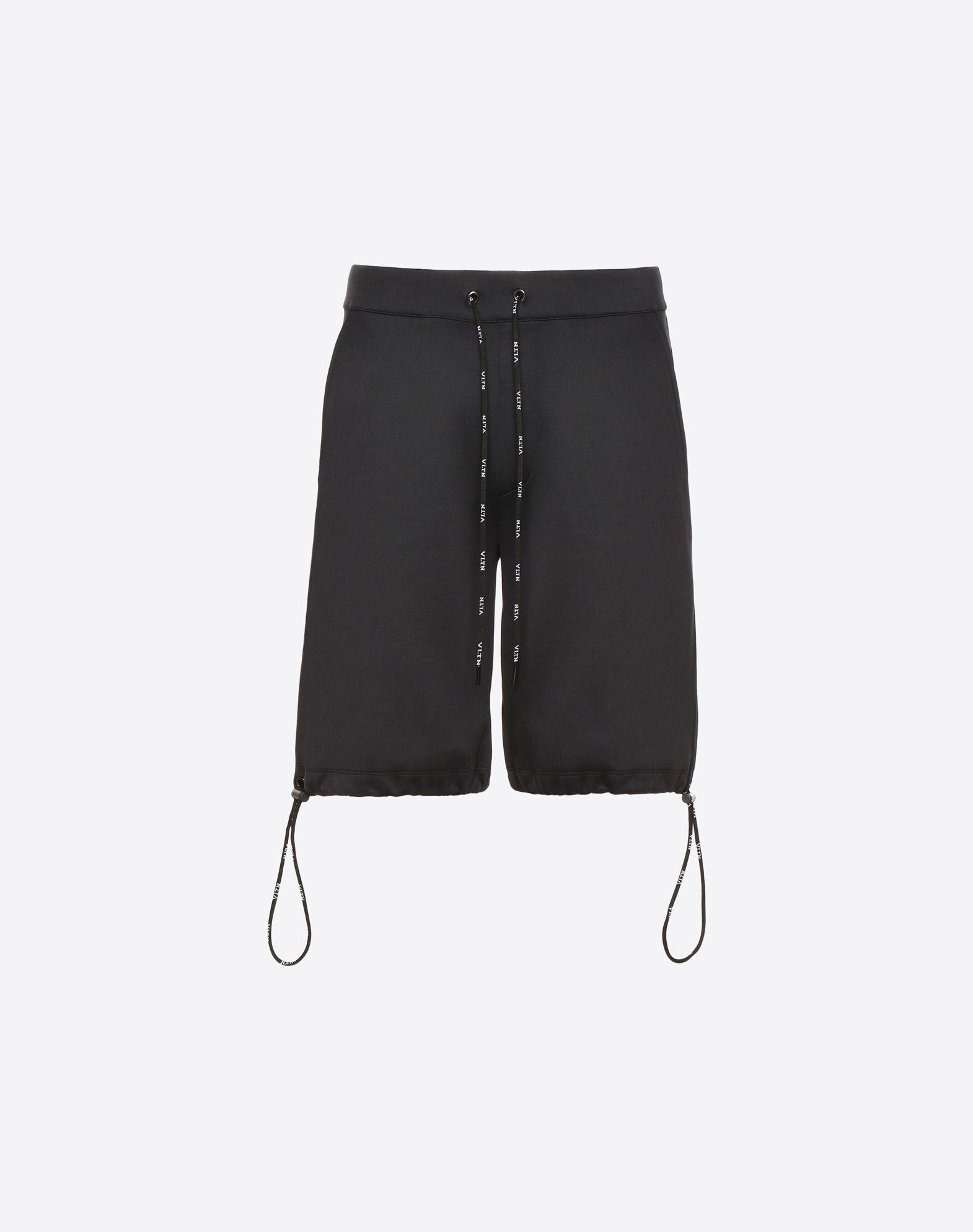 VLTN jersey Bermuda shorts
