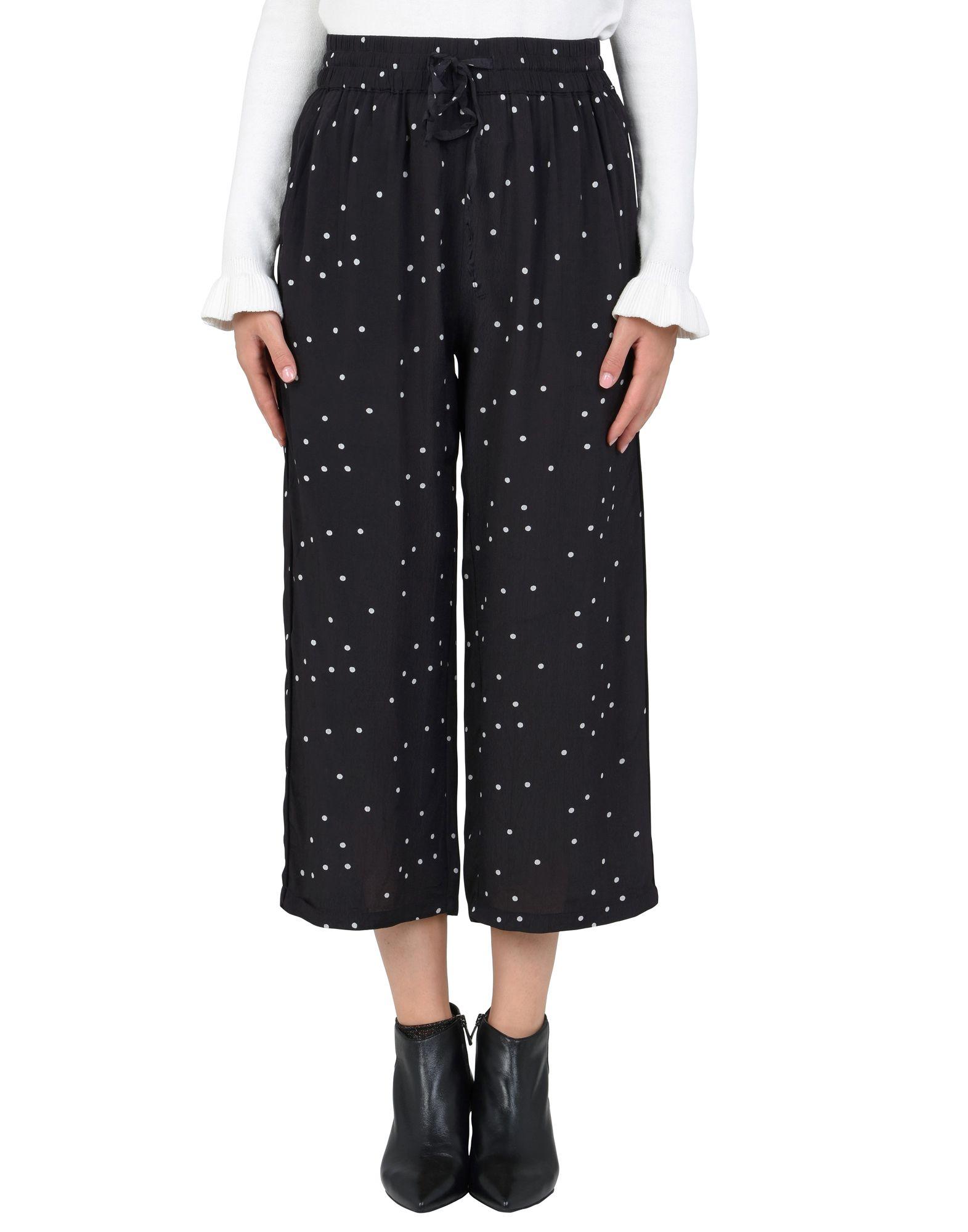 《セール開催中》MOSS COPENHAGEN レディース パンツ ブラック XS レーヨン 100% Spirit Pants