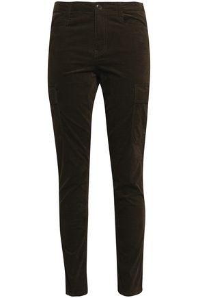 VINCE. Cotton-blend corduroy skinny pants