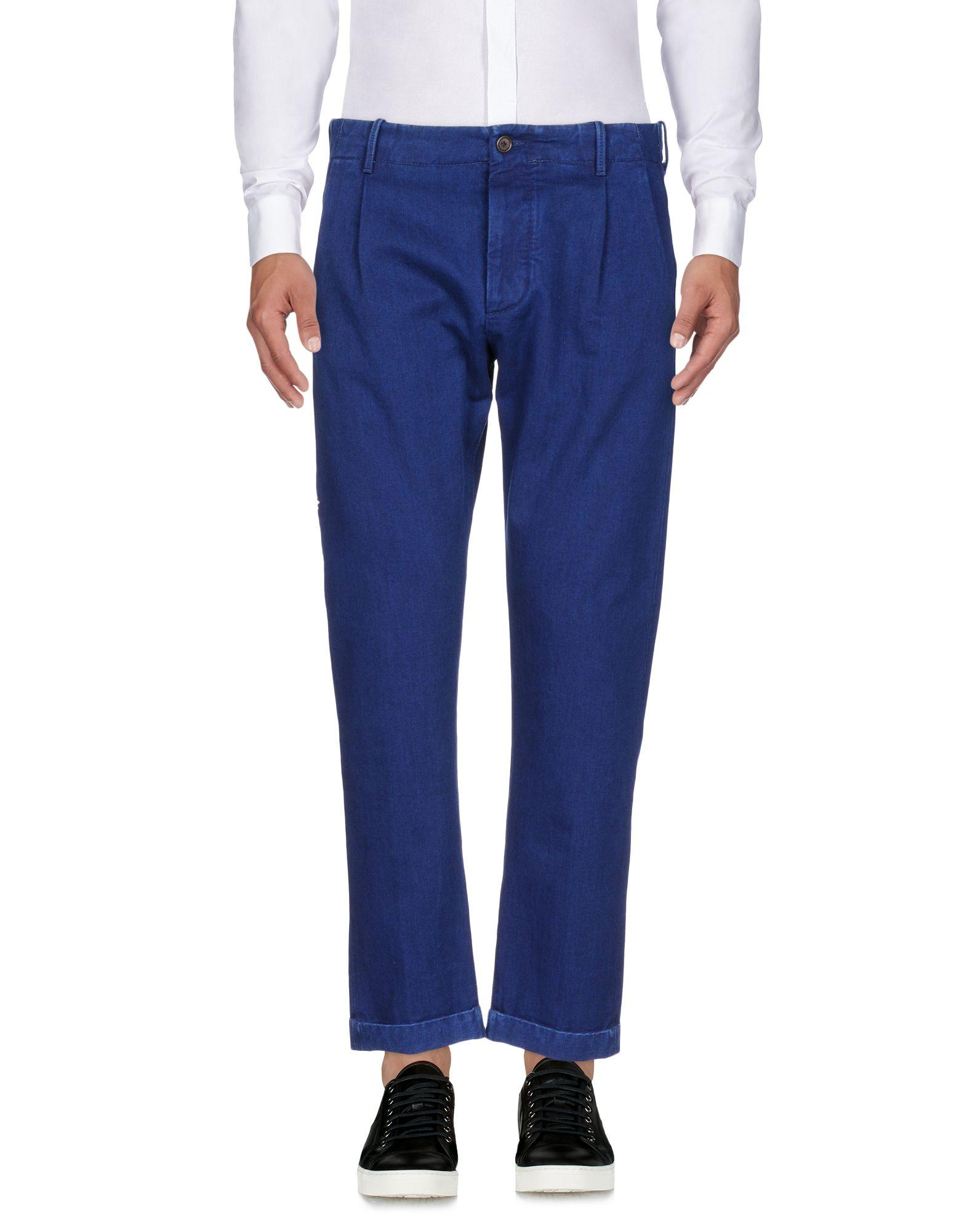 《送料無料》FORTELA メンズ パンツ ブルー 31 コットン 100%