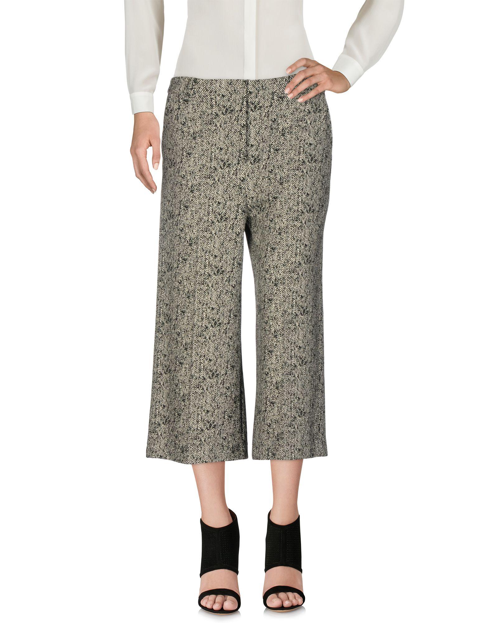 PATRIZIA PEPE Брюки-капри patrizia pepe широкие джинсы