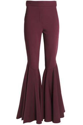 ELLERY Ruffled woven flared pants