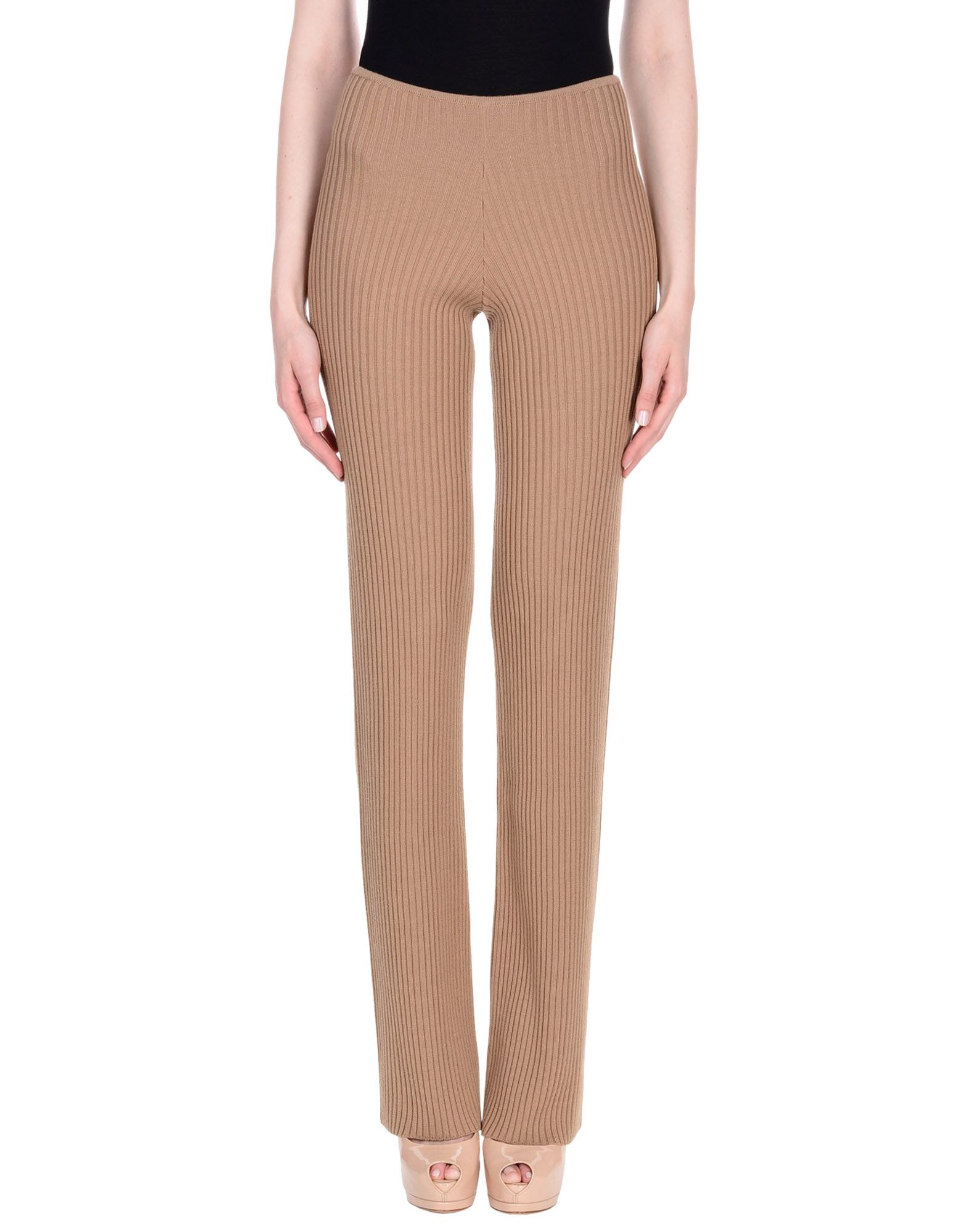 NERVURE Casual Pants in Camel