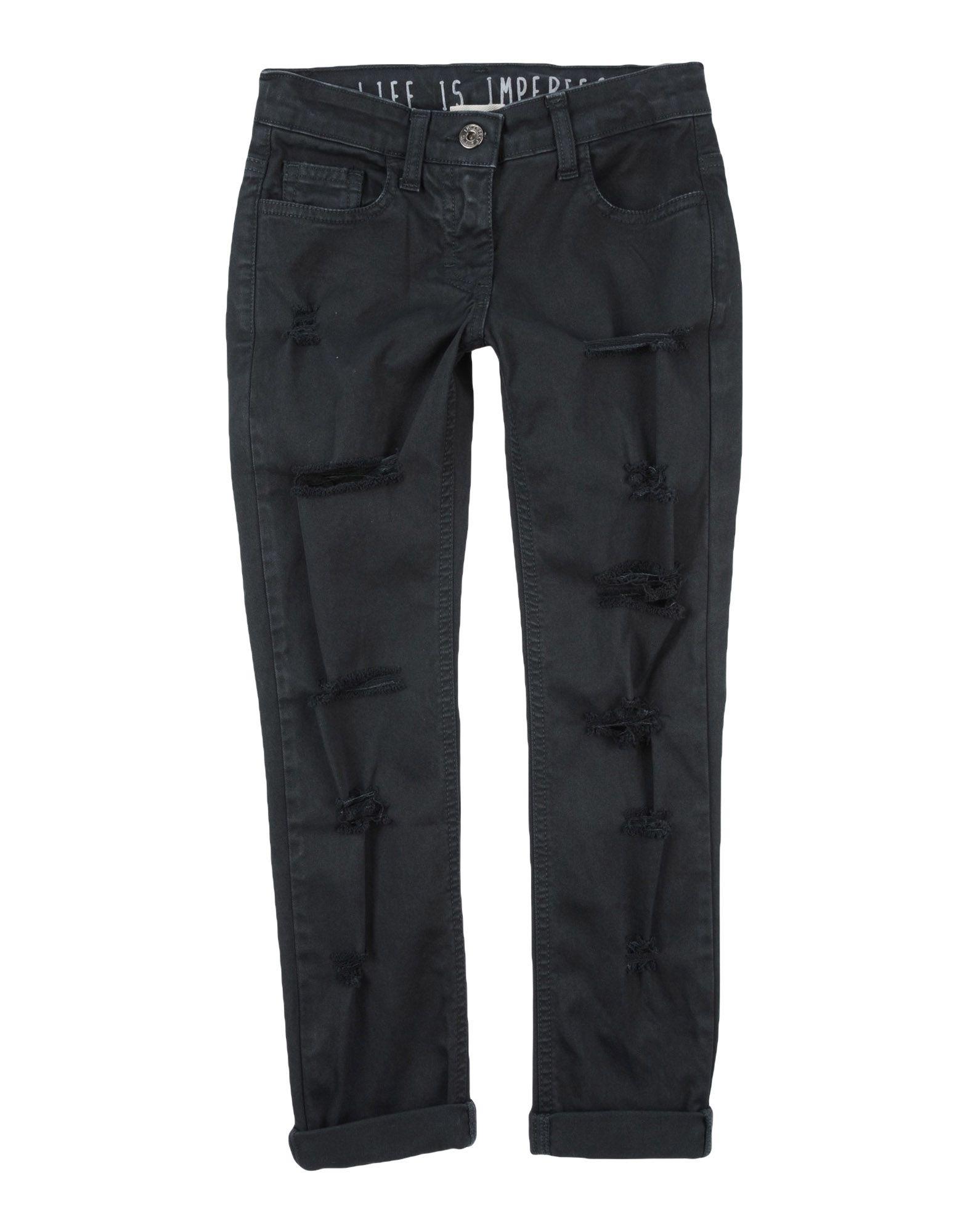 !m?erfect Kids'  Jeans In Steel Grey