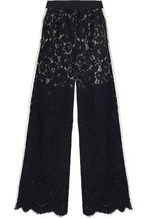 GOEN.J Corded lace wide-leg pants