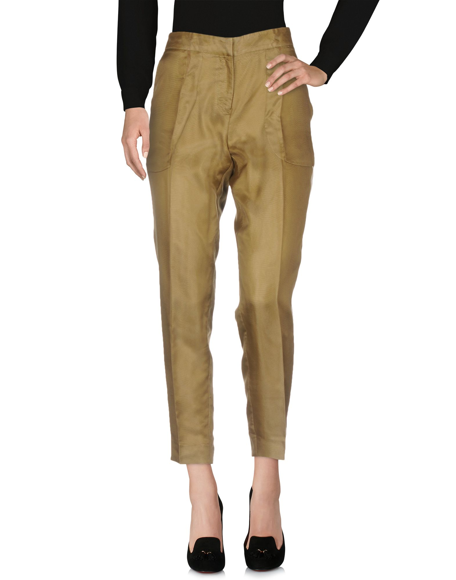 MOSCHINO CHEAP AND CHIC Casual Pants in Military Green