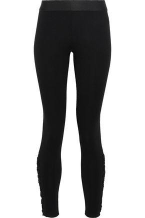 BAILEY 44 Ponzu lace-up stretch leggings