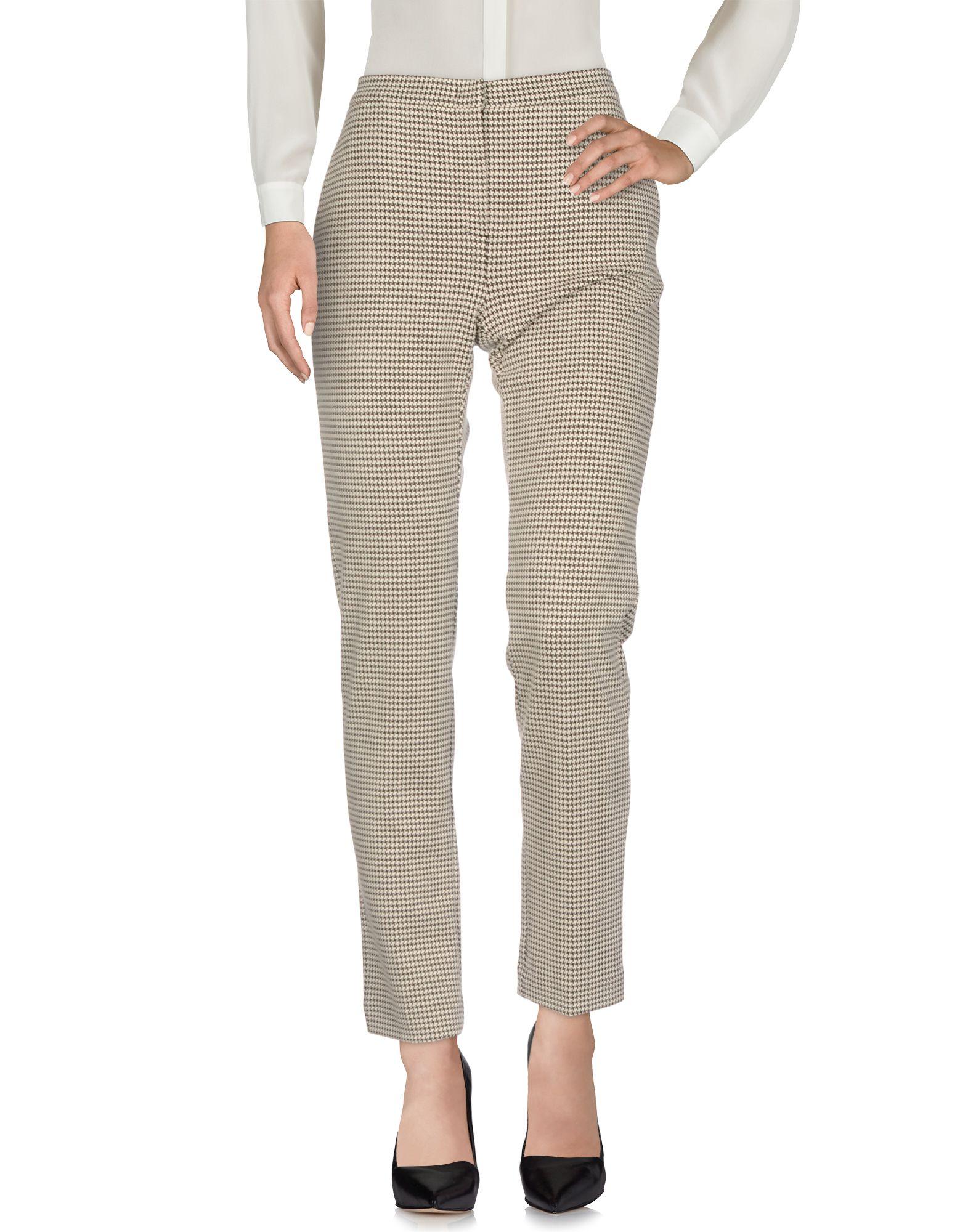 WEEKEND MAX MARA Повседневные брюки прямые брюки с принтом max mara брюки с карманами