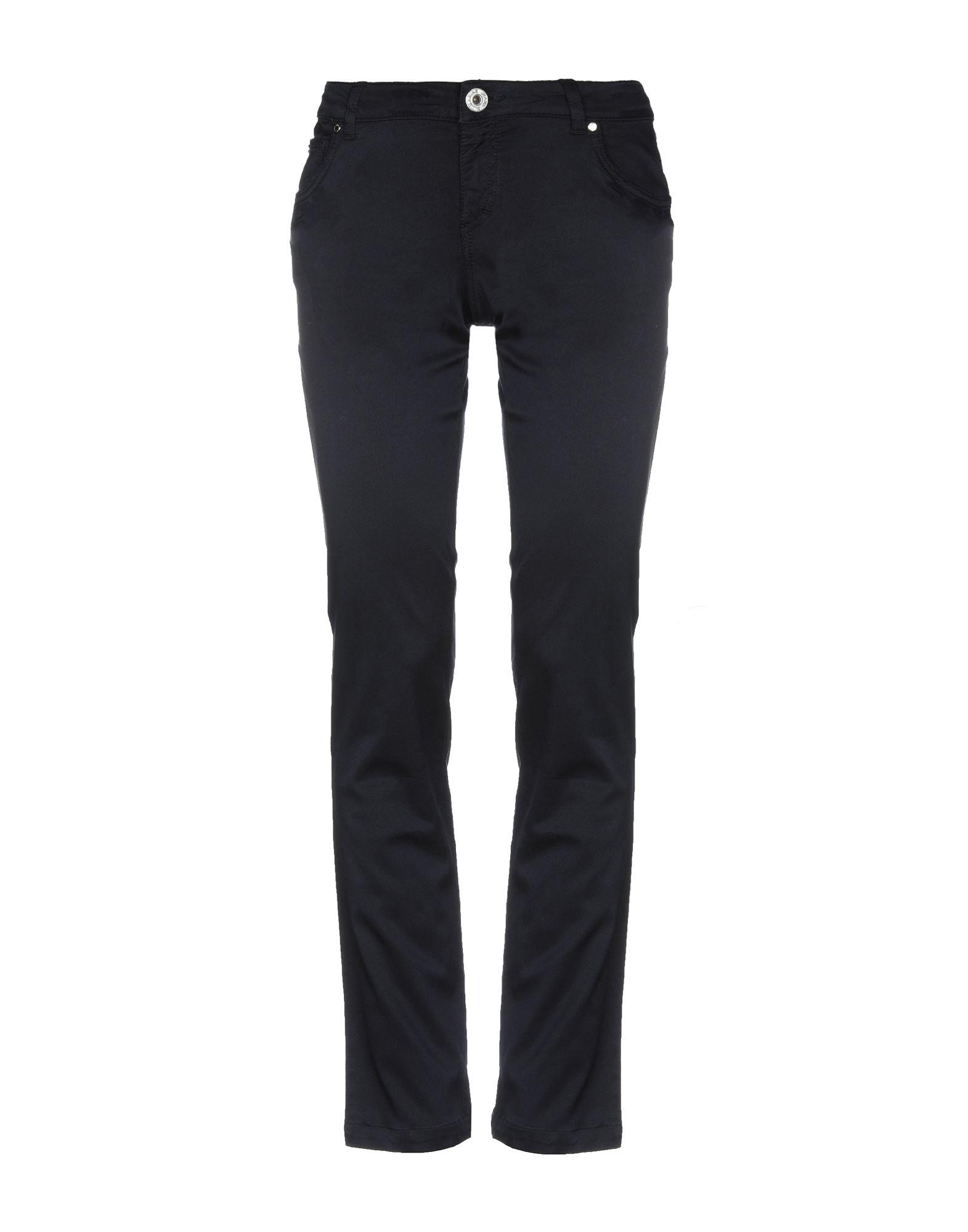 BLUMARINE JEANS Повседневные брюки ripped jeans miss blumarine ripped jeans