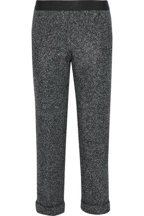 BAILEY 44 Woodsman cropped marled tweed straight-leg pants
