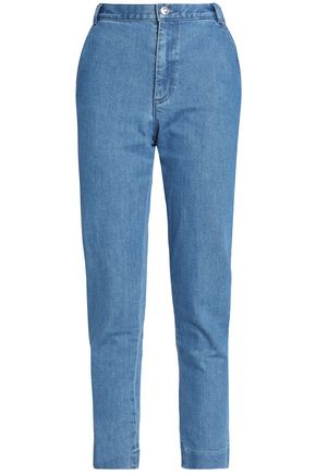 VANESSA SEWARD High-rise slim-leg jeans