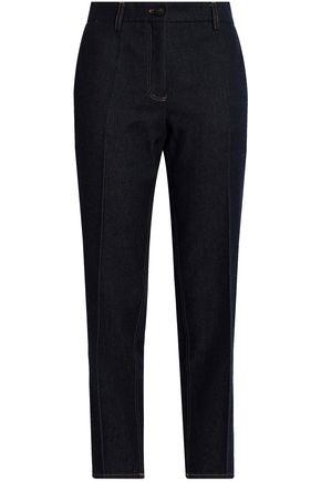 PRINGLE OF SCOTLAND Mid-rise slim-leg jeans