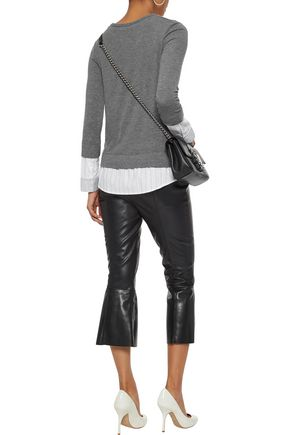 BAILEY 44 Lupine faux leather kick-flare pants