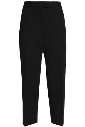 MICHAEL MICHAEL KORS Cropped twill tapered pants