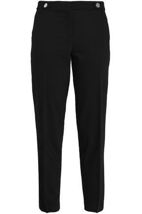MICHAEL MICHAEL KORS Cropped wool-blend tapered pants 6ca44524d2c