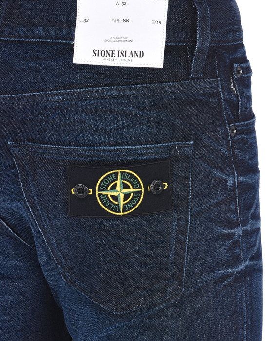 13186691bg - TROUSERS - 5 POCKETS STONE ISLAND