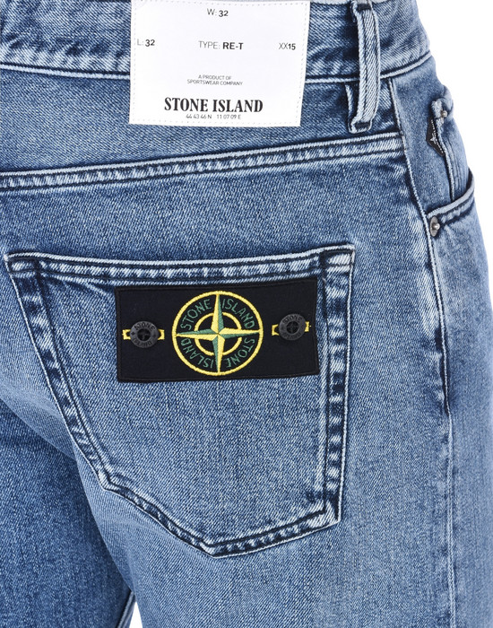 13186707we - PANTS - 5 POCKETS STONE ISLAND