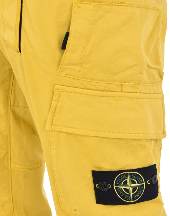13186836fm - TROUSERS - 5 POCKETS STONE ISLAND
