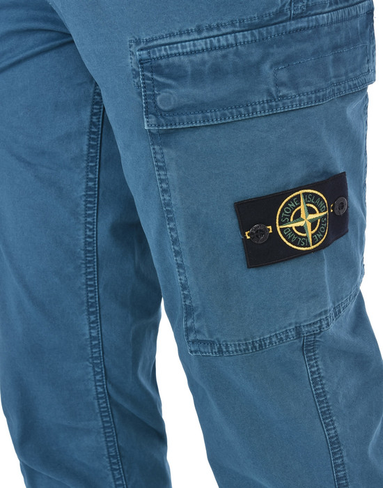 13186839fp - PANTS - 5 POCKETS STONE ISLAND