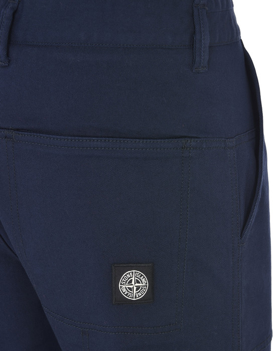 13186866da - TROUSERS - 5 POCKETS STONE ISLAND