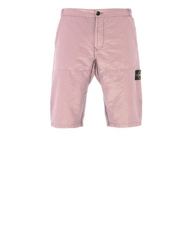 STONE ISLAND Bermuda shorts L0111 COTTON METAL