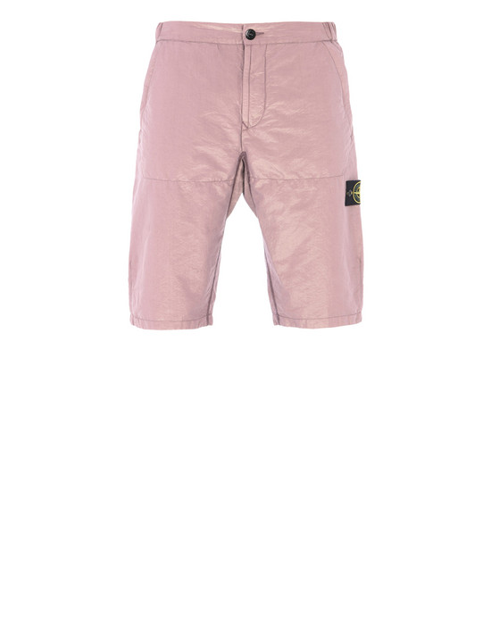 STONE ISLAND Bermuda L0111 COTTON METAL