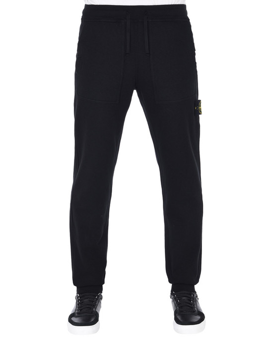STONE ISLAND Fleece Trousers 64561 T.CO+OLD
