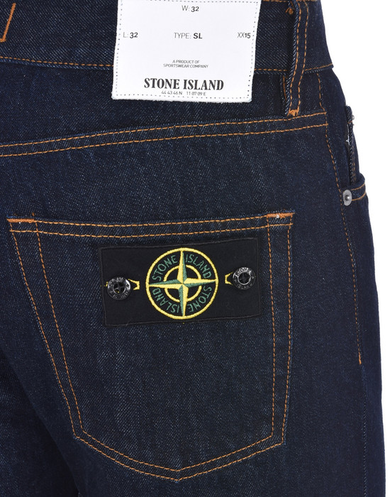 13186992bj - PANTS - 5 POCKETS STONE ISLAND