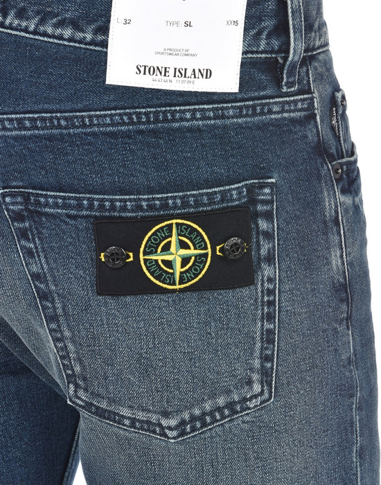 13186996dx - PANTS - 5 POCKETS STONE ISLAND