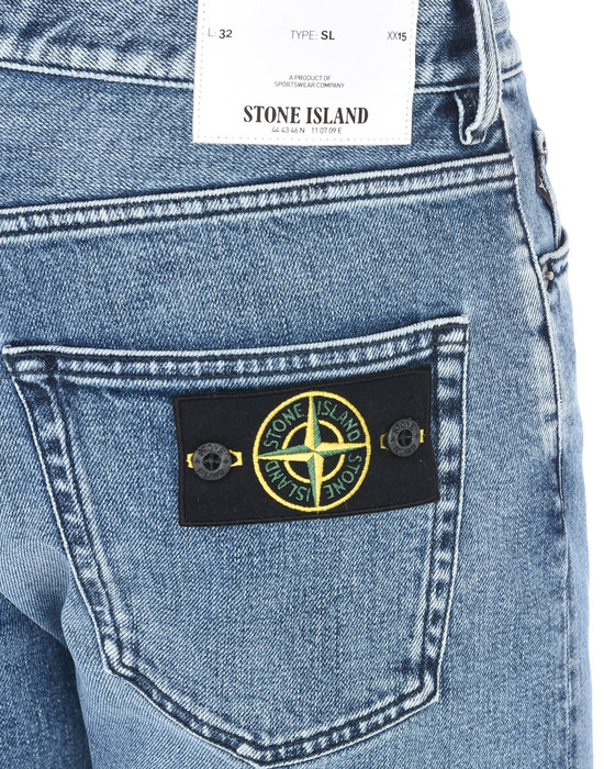 13186997ga - PANTS - 5 POCKETS STONE ISLAND