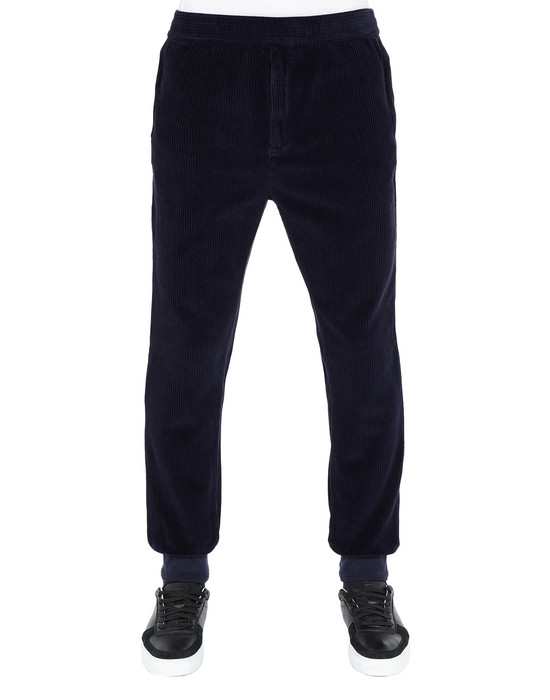 STONE ISLAND Fleece Trousers 66339 CORDUROY